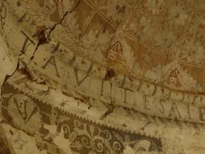 Esgrafiados de la ermita de Talaván (Cáceres)