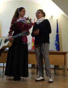Rebeca Gea y Ana Vicente Peralejo