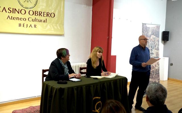 Josefa Montero García, Laura Pascual y Francisco Martín