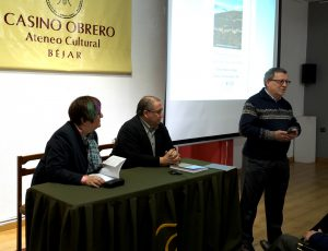 Josefa Montero, José Mª Hernández y Juan Carlos Díaz